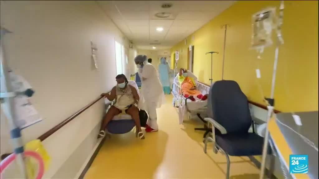 2021-08-19 18:10 Covid-19 dans les Antilles françaises : un pont aérien pour soulager les hôpitaux saturés