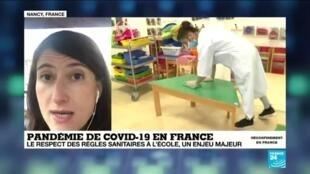 2020-05-11 10:07 Déconfinement en France : un retour progressif à l'école, prérentrée des enseignants