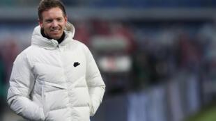 Julian Nagelsmann was appointed Leipzig boss in July 2019