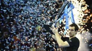 Andy Murray s'est imposé face à Novak Djokovic lors du Masters à Londres, dimanche 20 novembre 2016.