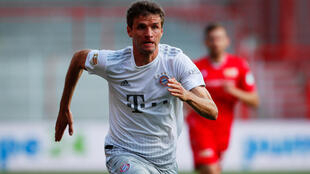 Bayern Munich forward Thomas Mueller admitted it was strange to play Union Berlin behind closed doors on Sunday