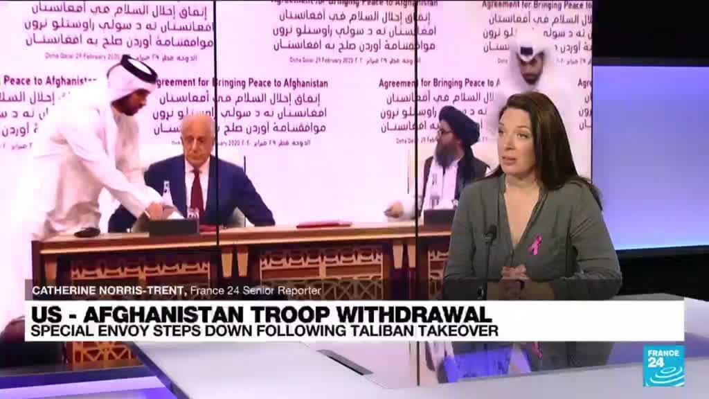 2021-10-19 11:07 Khalilzad, US envoy who brokered Afghan exit, quits