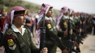 الجيش الأردني. 2 مارس/آذار 2016.