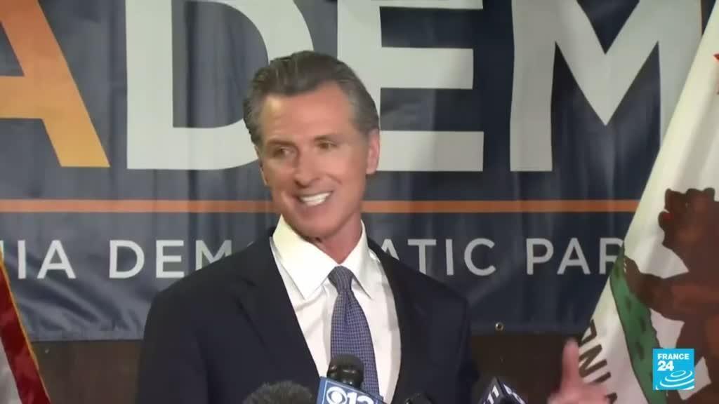 2021-09-15 13:05 El gobernador de California, Gavin Newsom, superó el referendo revocatorio
