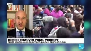 2021-04-21 09:03 Chauvin convicted of murdering George Floyd in landmark US racial justice case