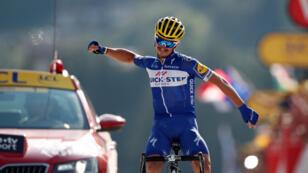 El pedalista francés logró imponerse en la etapa 10, una de las más exigentes de la presente edición del Tour de Francia.