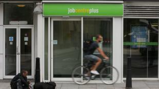 Une agence pour l'emploi située à l'est de Londres, le 20 juillet 2016.