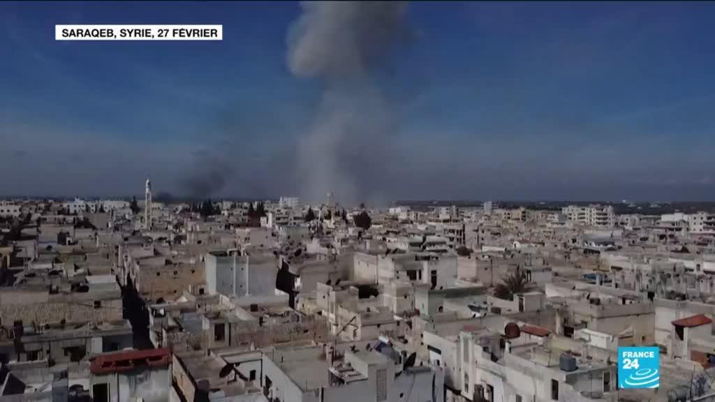 2020-02-28 10:01 Guerre en Syrie : Ankara venge ses 34 soldats tués en frappant Idleb