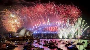 احتفالات مدينة سيدني الأسترالية بالعام الجديد 2019