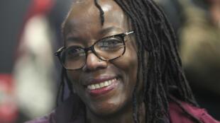 Arrested: Tsitsi Dangarembga, pictured at the Frankfurt Book Fair in 2018