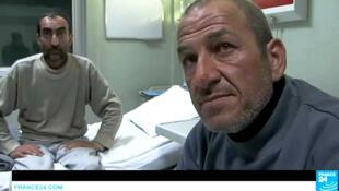 Deux des victimes irakiennes qui ont été exposées à un produit chimique toxique accusent l'EI.