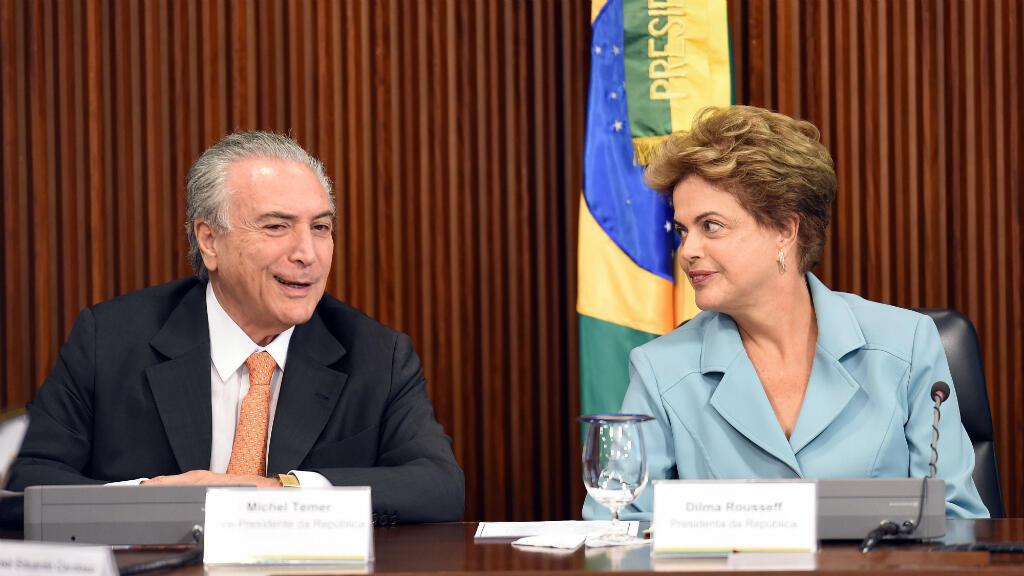 Michel Temer fue vicepresidente de Brasil durante el mandato de Dilma Rousseff