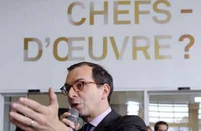 Laurent Le Bon, directeur du CPM. (AFP)