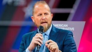 Brad Parscale, gerente de campaña para la campaña de reelección de Trump 2020, habla en la 47a Conferencia Anual de Acción Política Conservadora (CPAC) en National Harbor, Maryland, EE. UU., el 28 de febrero de 2020.