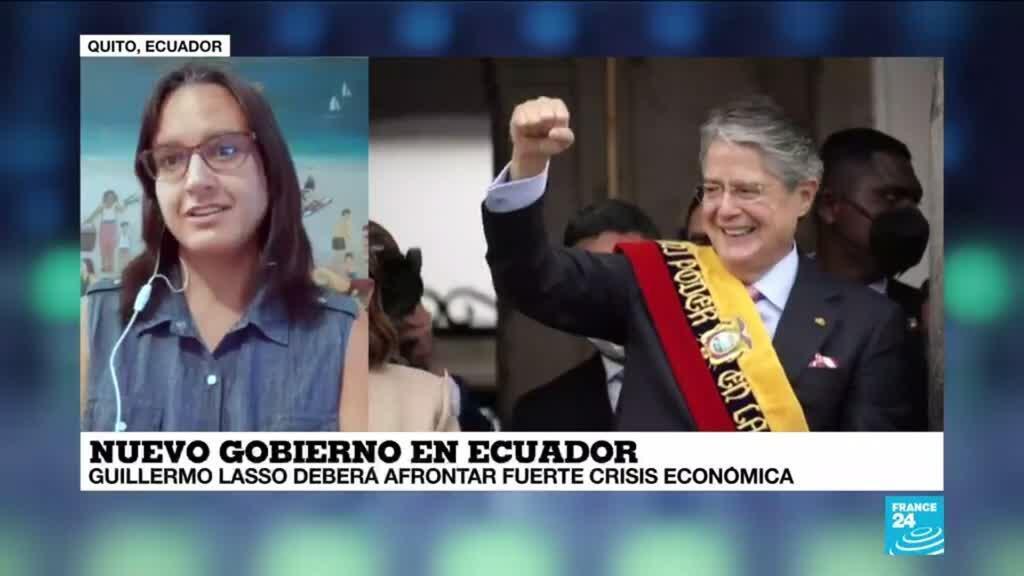 """2021-05-25 14:38 Sofía Cordero: """"El margen de maniobra de Lasso lo dará las fuerzas a las que terminó aliándose"""""""