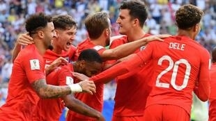 فوز كبير لإنكلترا على السويد لتتأهل إلى نصف النهائي من المونديال. 2018/07/07