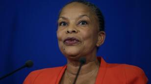 Icône de la gauche, Christiane Taubira avait exprimé lors d'une conférence de presse son désaccord avec la réforme constitutionnelle.