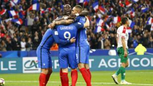 La France n'a fait qu'une bouchée de la Bulgarie, vendredi 7 octobre, au Stade de France (4-1).