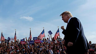 US President Donald Trump is campaigning hard in Florida, which he won in 2016