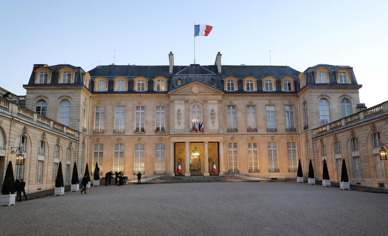 Le Conseil de défense écologique s'est réuni au palais de l'Élysée à Paris, lundi 27 juillet 2020.