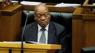 الرئيس الجنوب أفريقي جاكوب زوما