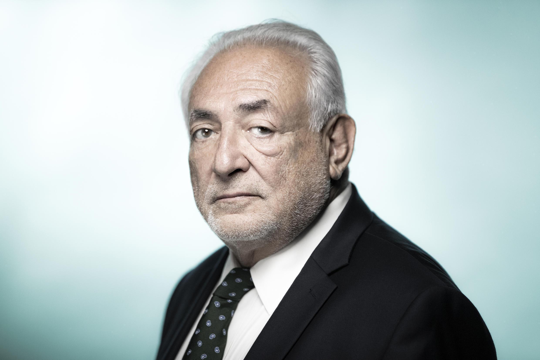 L'ancien patron du FMI Dominique Strauss-Kahn en septembre 2018 à Paris