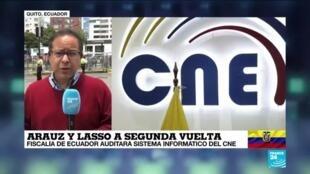 2021-02-21 18:02 Informe desde Quito: Fiscalía de Ecuador auditará sistema informático del CNE