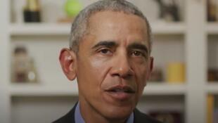 الرئيس الأمريكي السابق باراك أوباما في فيديو يؤيد جو بايدن. 14 أبريل/نيسان 2020.