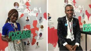 La Béninoise Tatiana Houndjo et le Congolais Louison Mbombo ont été distingués par la Commission européenne.