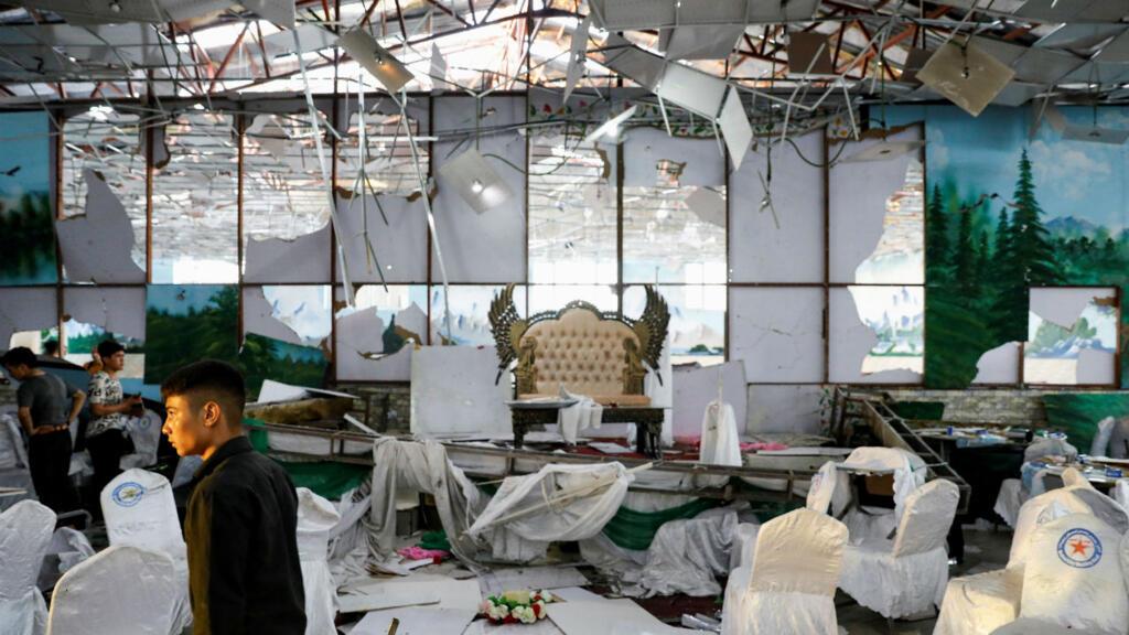 Afghanistan : une attaque contre un mariage fait plusieurs dizaines de morts à Kaboul