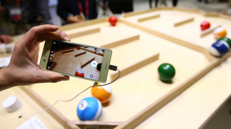 Le Sony Xperia X présenté au Mobile World Congress 2016.