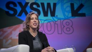 Susan Wojcicki, au festival SXSW, le 13 mars 2018.