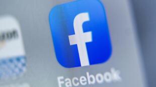 """شعار """"فيسبوك"""" في 28 آب/أغسطس 2019"""