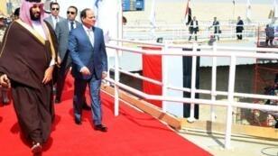 الرئيس عبد الفتاح السيسي وولي العهد السعودي الأمير محمد بن سلمان