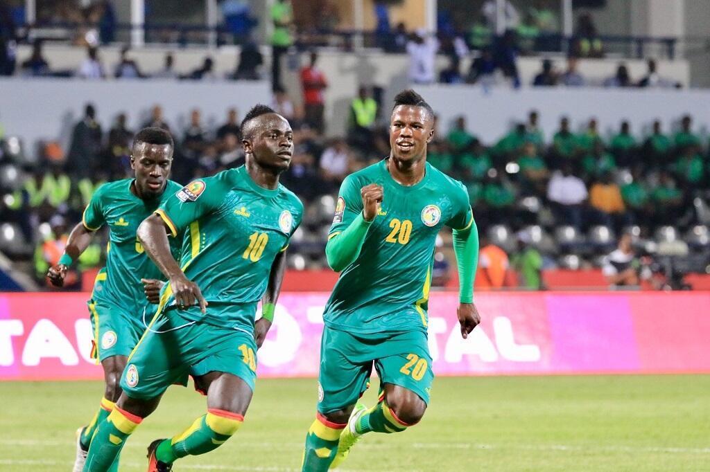 ساديو ماني هداف السنغال.