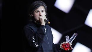 """Orelsan a gagné trois récompenses lors des Victoire de la musique 2018 pour son troisième album, """"La fête est finie""""."""