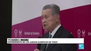 2021-02-12 13:31 Tokio 2020: comentarios sexistas fuerzan la renuncia de Yoshiro Mori