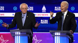 Democratic debate sanders biden