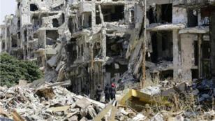 Homs, en 2016.