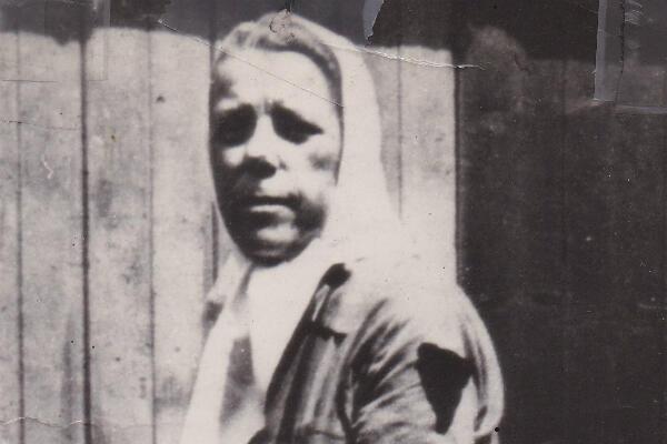 Martha après la libération du camp de Ravensbrück, en avril 1945.