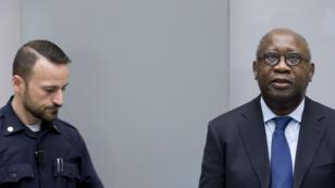 L'ancien président ivoirien Laurent Gbagbo à l'ouverture de son procès à La Haye, le 28 janvier 2016.