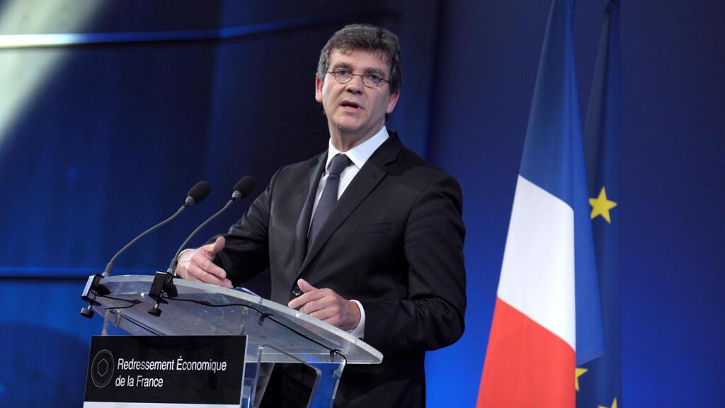 Arnaud Montebourg présente son plan de redressement économique de la France, le 10 juillet 2014