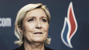 Marine Le Pen, le 10 mars 2018 à Lille.