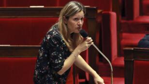 La présidente de la commission des Lois Yaël Braun-Pivet (LREM), ici en juillet 2017, estime le huis-clos préférable pour les auditions des fonctionnaires de police mais l'opposition refuse.