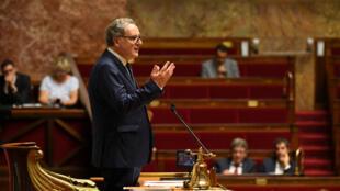 Richard Ferrand a été élu mercredi président de l'Assemblée nationale avec 254 voix, le 12 septembre 2018.