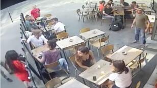 La scène de l'agression de Marie Laguerre avait été en partie filmée en vidéosurveillance.