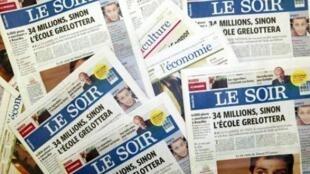 Le site Internet du quotidien belge a été attaqué lundi 13 avril.