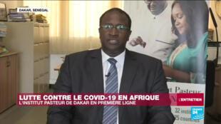 Amadou Sall, Directeur de l'Institut de Pasteur de Dakar, le 28 avril 2020.