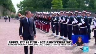 2020-06-18 11:32 Appel du 18 juin : le mémorial du Mont-Valérien, triste lieu d'exécution des résistants