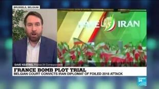 2021-02-04 12:03 Iran diplomat given 20 years for Paris bomb plot